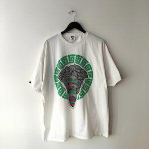 Crooks & Castles Medusa Graphic Rap Tee Shirt XL